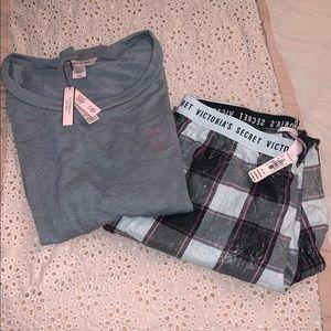 Victoria's secret pajama set pants top VS pajamas